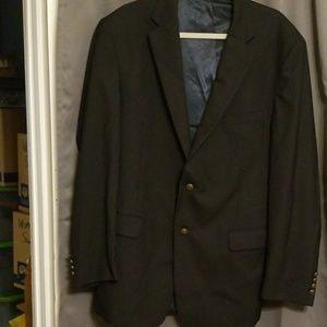 JoS A. Bank navy suit jacket